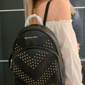 🍁 MCHAEL KORS NEW! Abbey Backpack, Studded